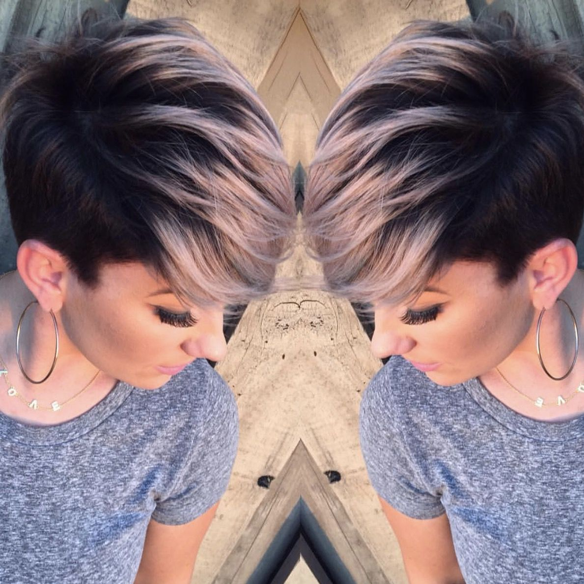 Pin by lisa marie on cute pinterest hair coloring short