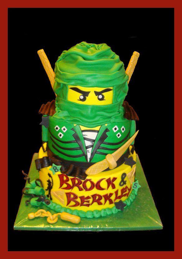 Fabulous Lloyd The Green Ninjago With Images Ninjago Cakes Funny Birthday Cards Online Alyptdamsfinfo