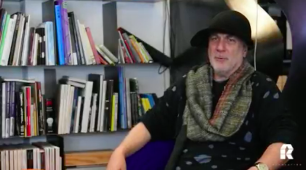 Watch Ron Arad as he explain his inspiration behind the Armadillo Tea Pavilion for Revolution.