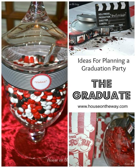let s go to the movies graduation party party ideas graduation
