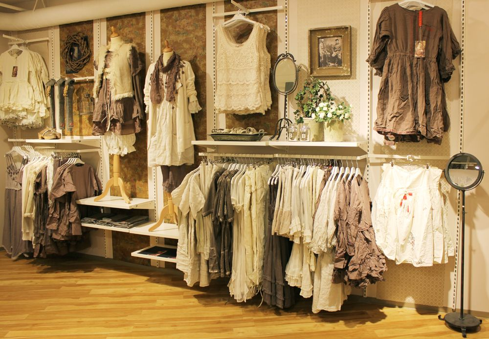 Not only is the clothes beautiful, but look at the interior! Gorgeous!