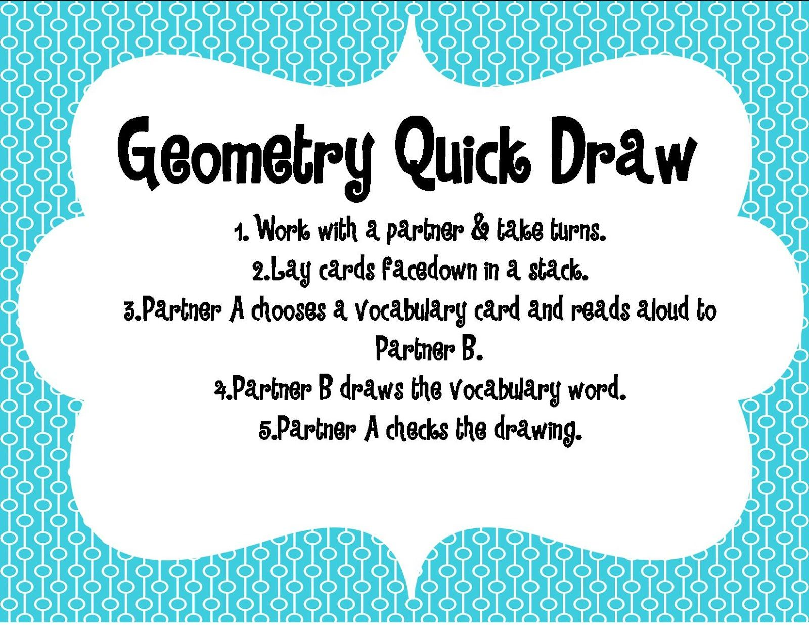 Adventures Of A Third Grade Teacher Geometry Freebie