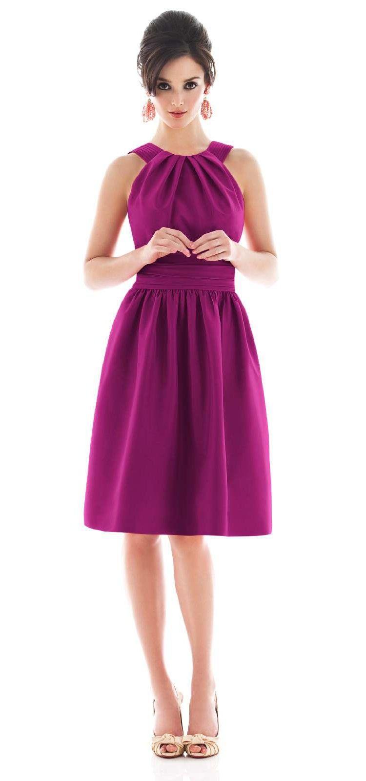 Halter bridesmaid dress | Products I Love | Pinterest | Vestiditos ...