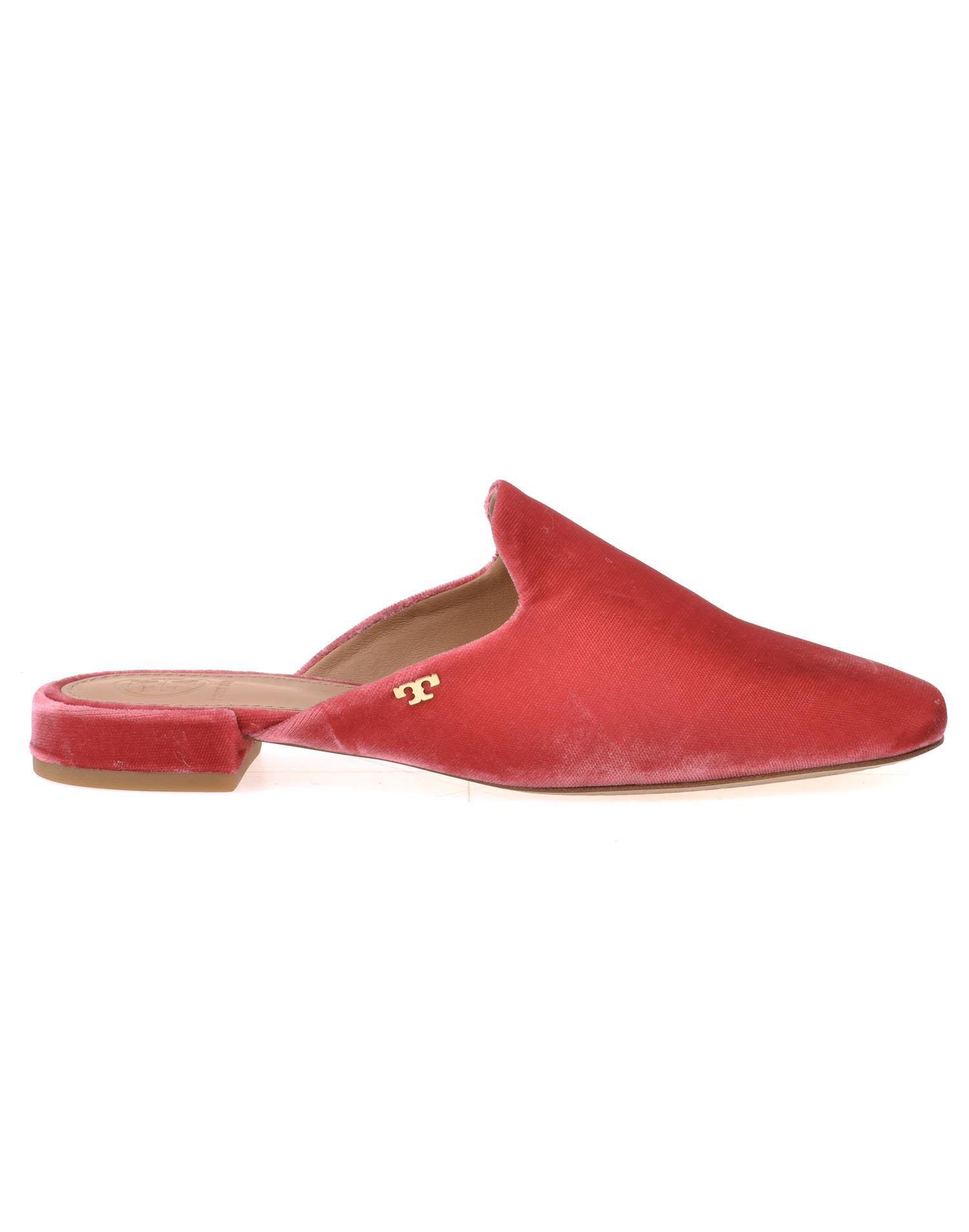 f24ebaf141a TORY BURCH VELVET SLIPPER.  toryburch  shoes