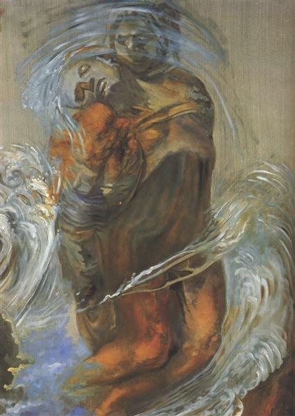 Pieta 1982 By Salvador Dali Expressionism Symbolism Religious
