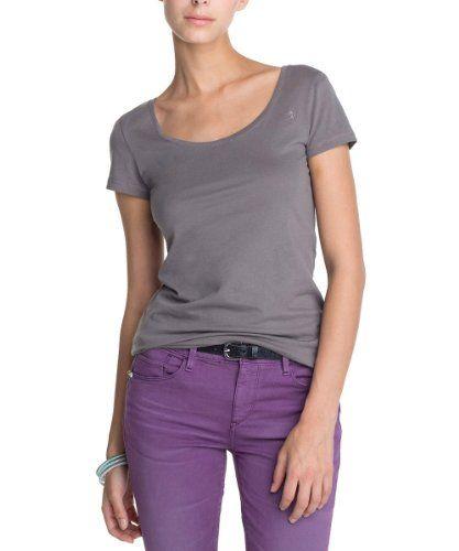 [Kaufen Neu: EUR 9,99 ] (Germany): Bekleidung: edc by ESPRIT Damen T-Shirt 073CC1K005, Rundhals