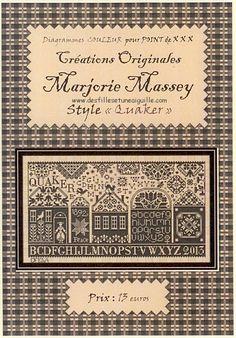 MARJORIE MASSEY - Quaker Street (FQ1) - Des Filles et une Aiguille