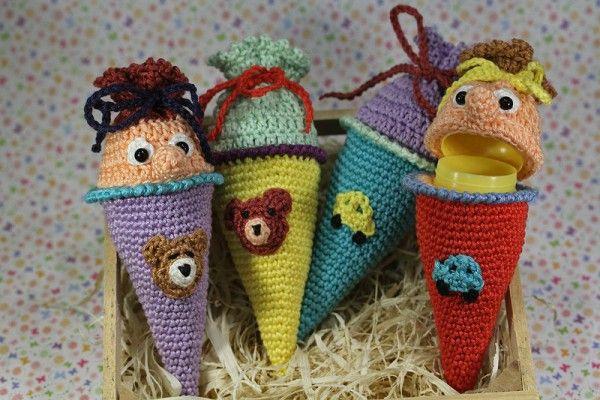 ü Schultüte Häkeln ü Zuckertüte Häkeln For The Kidscrafts