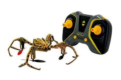 Tenergy TDR Spider Stunt RC Drone Quadcopter 2.4 GHz 6 Axis 3D 360° Roll Tricks Inverted Flight Outdoor and Indoor - The TDR Spider Stunt Quadcopter is a high-performance remote control drone designed for incredibly fast speed, smooth flight and amazing stunts. The one-key stunt design makes it easier than ever for beginners to perform tricks and stunts. The 6-axis flight control system, high performance motor ...