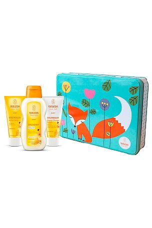 Weleda Babykit - Baby Oil 200 ml, Body Cream 75 ml, Nappy Cream 75 ml