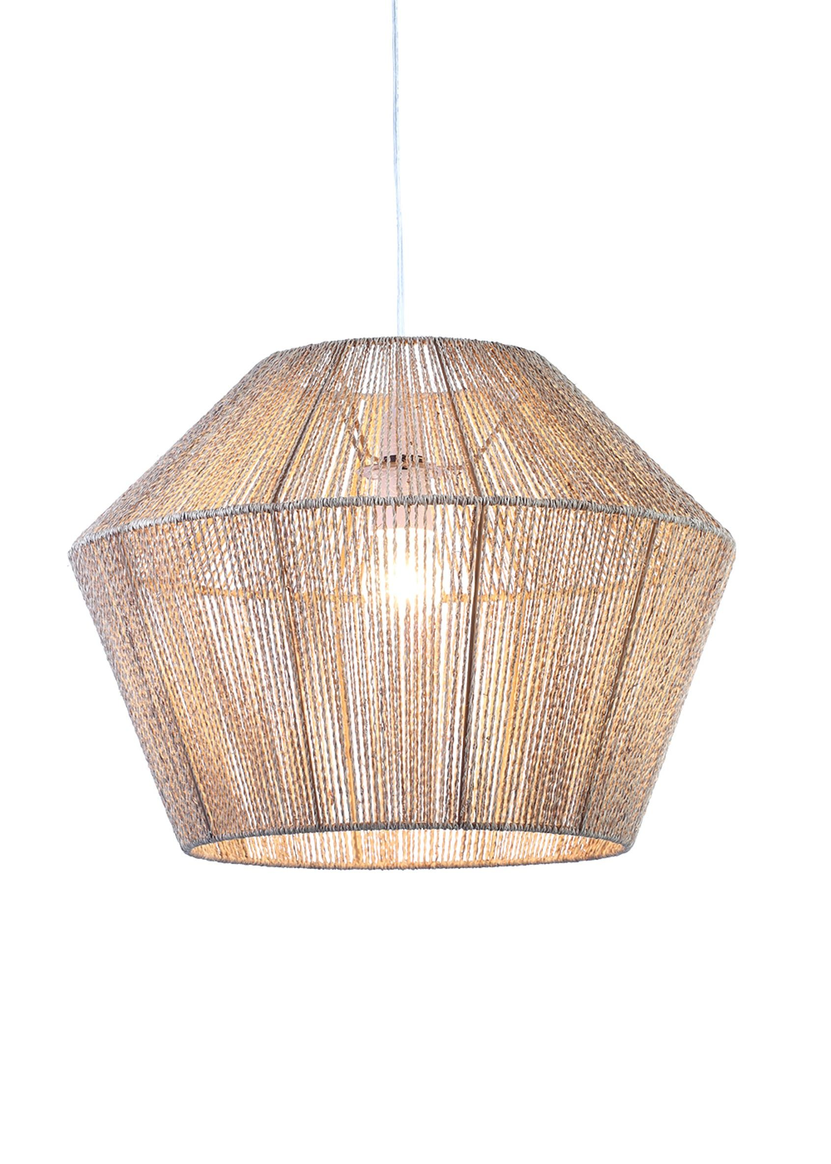 Eyal Easy Fit Lamp Shade H33cm X W45cm Natural Living Room Lamp Shades Ceiling Light