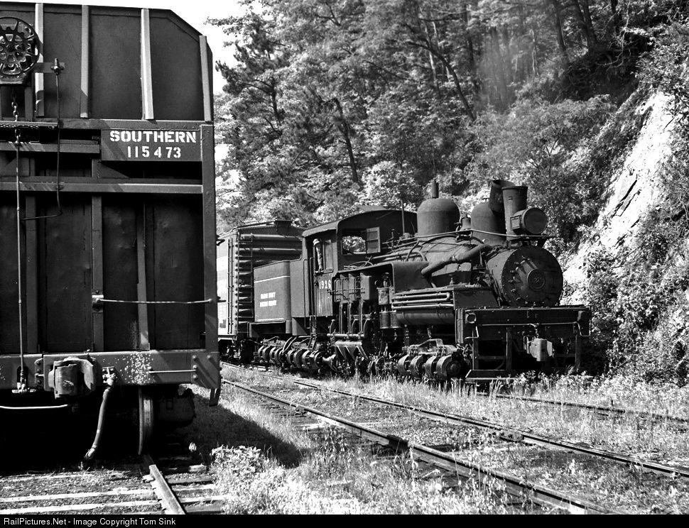 RailPictures.Net Photo: GC 1926 Graham County Railroad Shay at Topton, North Carolina by Tom Sink