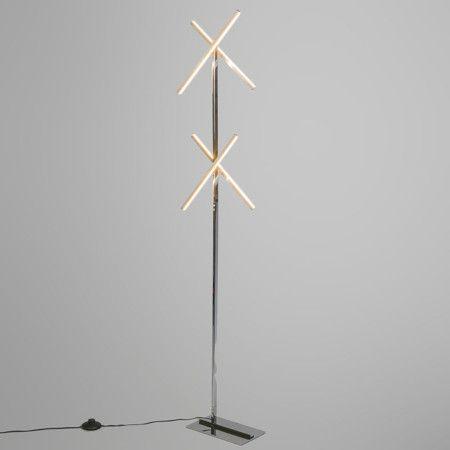 Lámpara ANTENNA acero #decoracion #interiorismo #lamparayluz.es