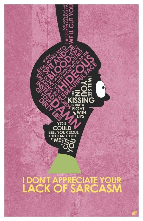 Louise Belcher Quote Poster