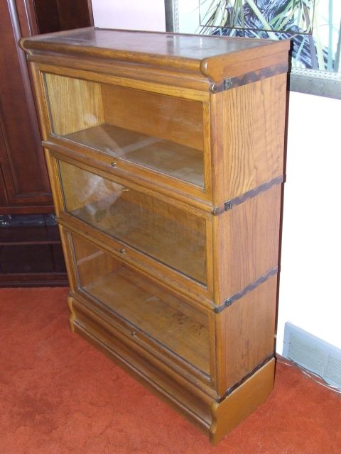 Collectibles-General (Antiques): MACEY BARRISTER BOOKCASE, globe wernicke, barrister  bookcase - Collectibles-General (Antiques): MACEY BARRISTER BOOKCASE, Globe