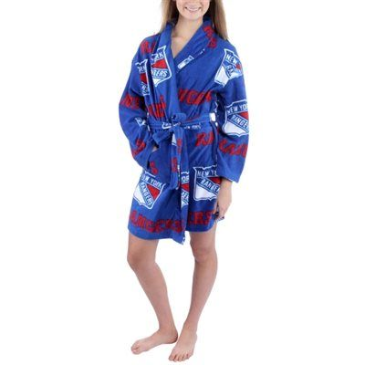 huge selection of afd9c be703 Women's New York Rangers Royal Blue Ramble Microfleece Robe ...