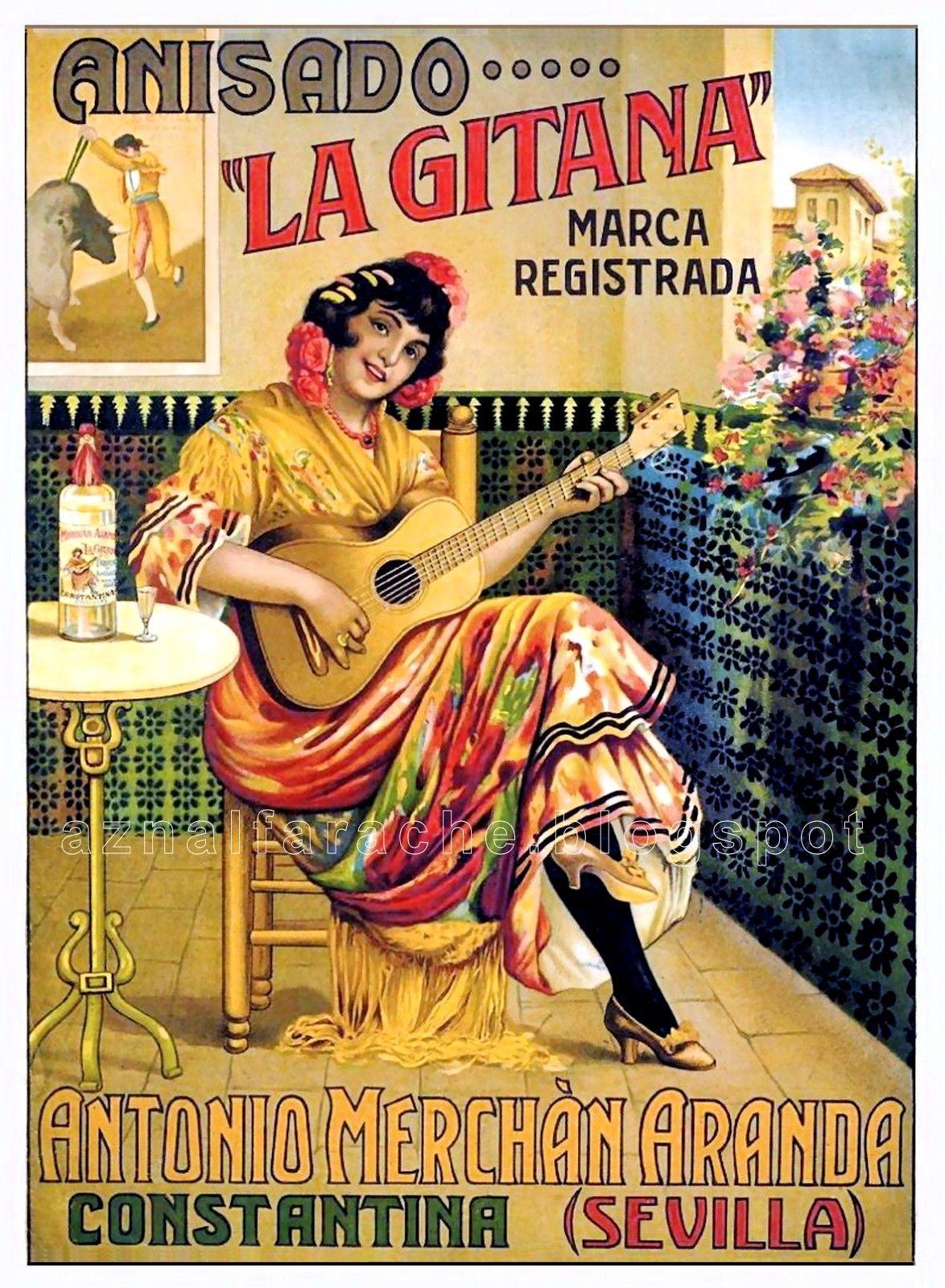 La gitana carteles antiguos publicitarios pinterest publicidad retro anuncios vintage y - Carteles publicitarios antiguos ...