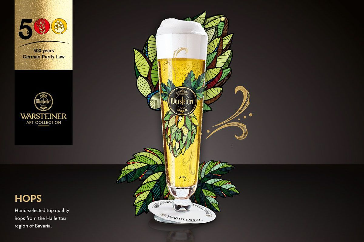 Warsteiner // Art Collection on Behance | BEER | Pinterest ...