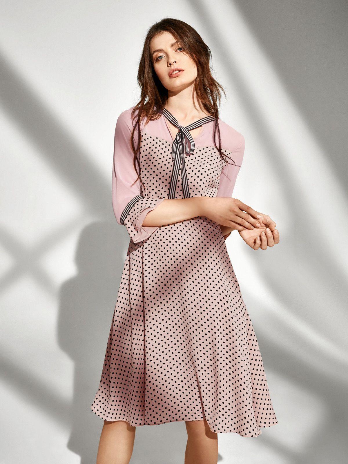 b1f1f55063 Taranko Spring 2019 Pink dress Ubrania Na Wiosnę
