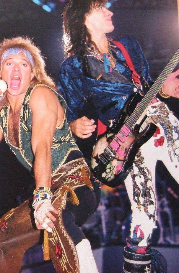Dlr Roth Band With Steve Vai Steve Vai David Lee Roth David Lee