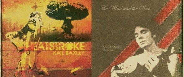 Kail Baxley - Heatstroke/The Wind and the War (Forty Below Records)