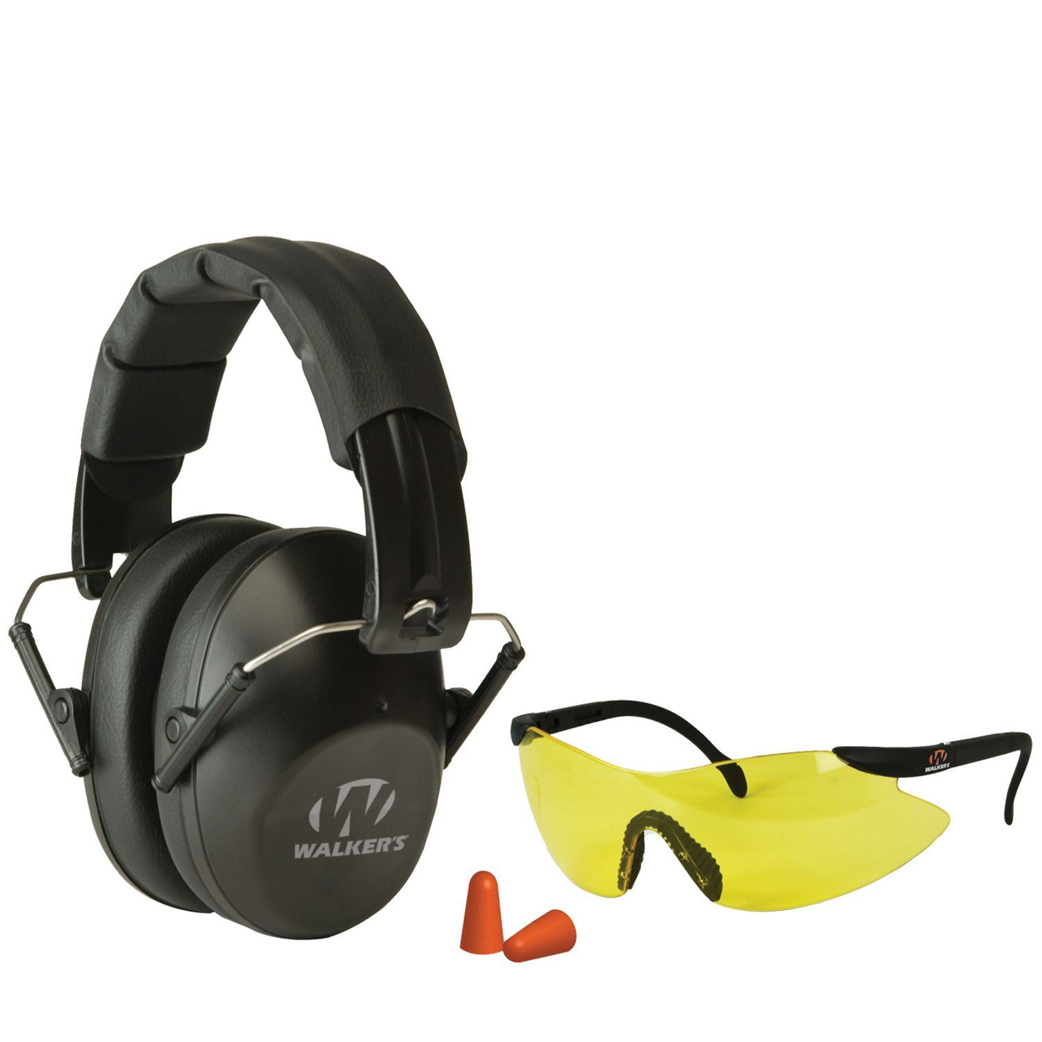 Walker's Game Ear Pro Shooting Earmuffs and Glasses Safety