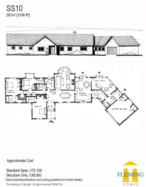 Timber Frame Self Build Houses Images Plans And Design Galleries Scotland Uk Self Build Houses Building A House Bungalow Floor Plans