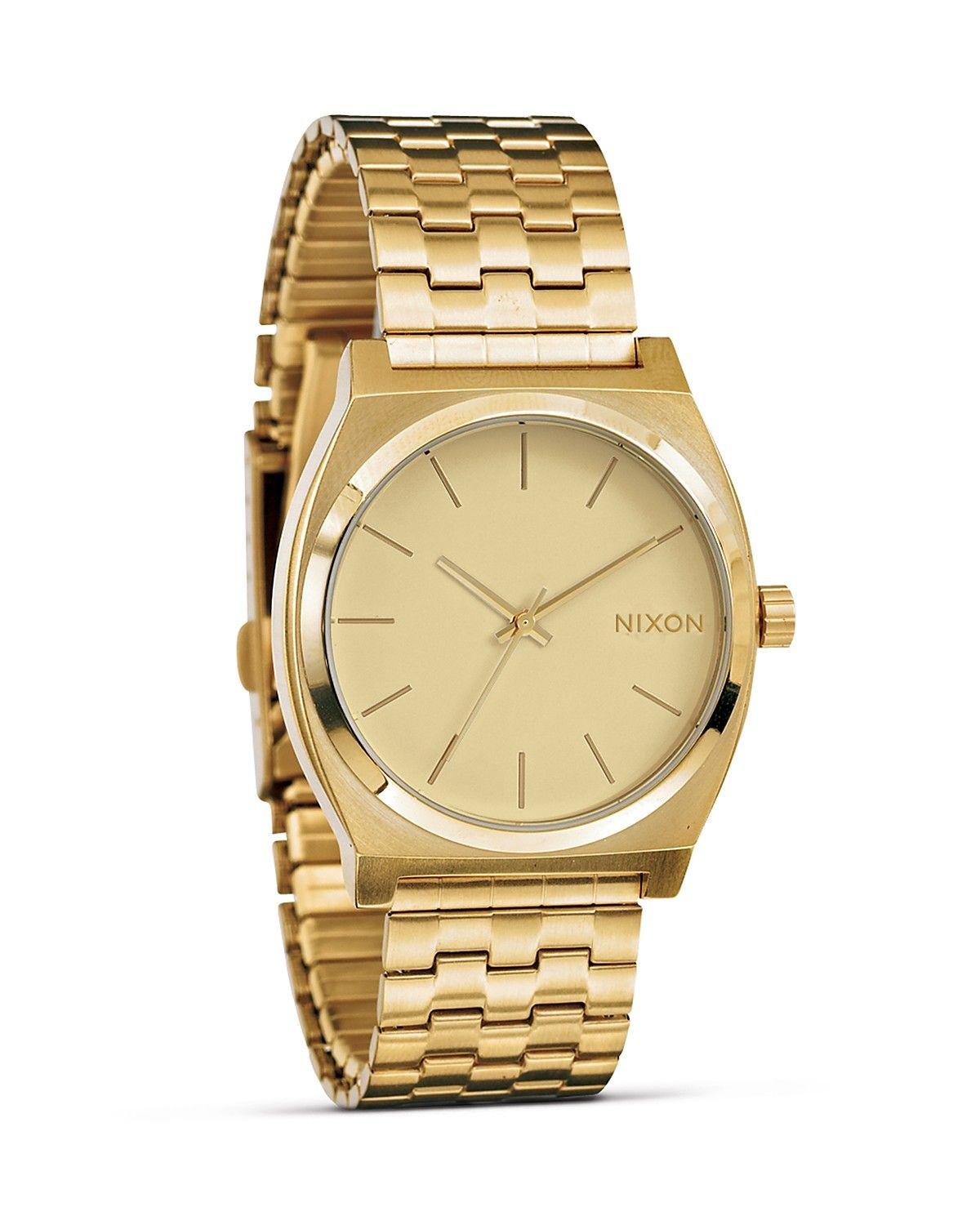 Nixon Steele Tops: Nixon The Time Teller Watch - $95