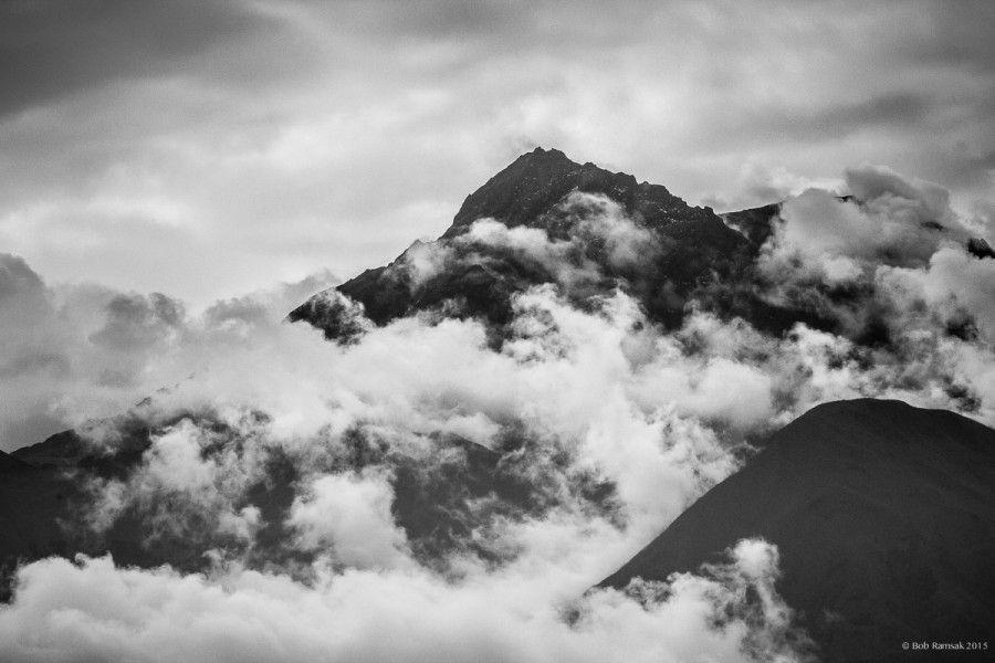 Cotacachi volcano, near Otavalo, Ecuador