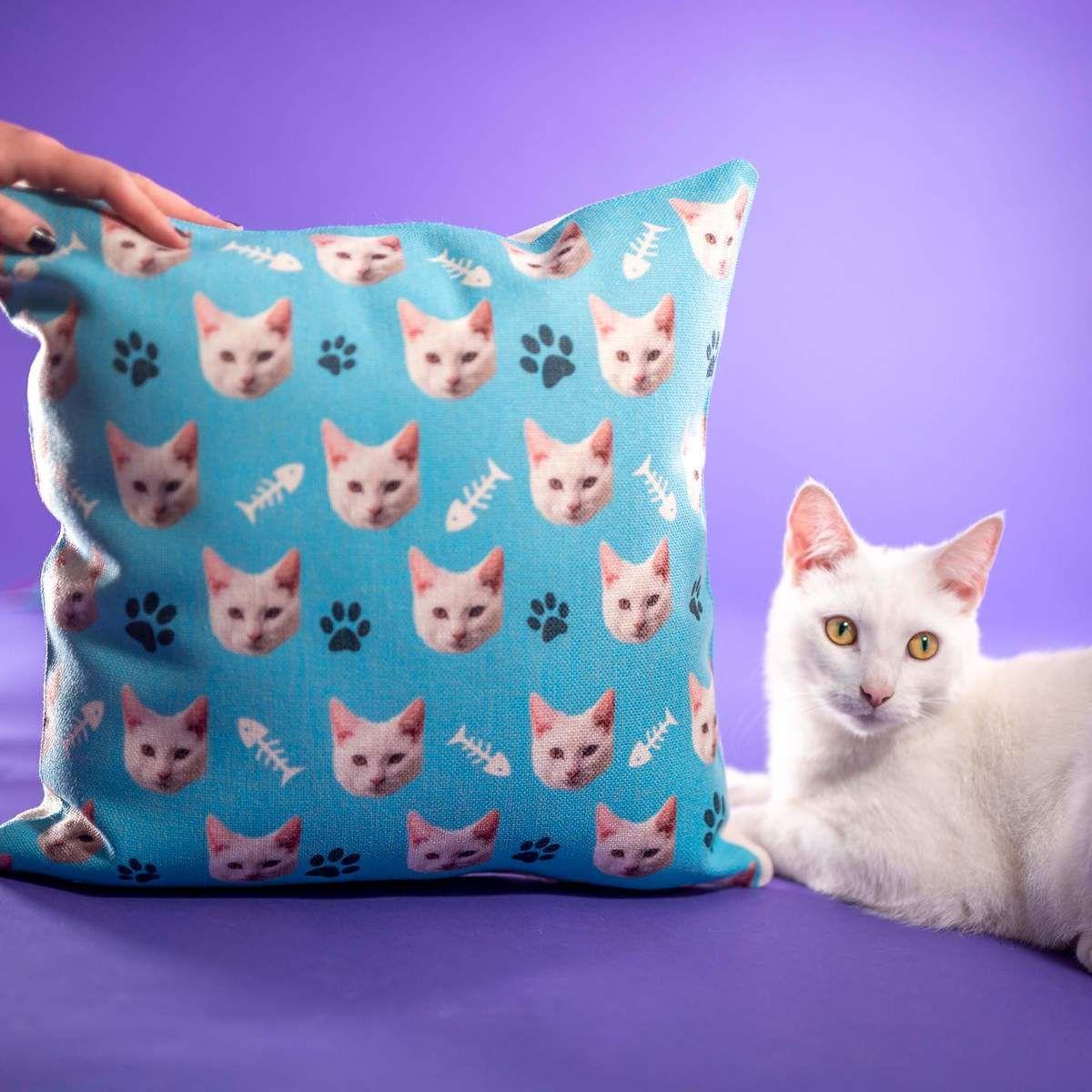 Customized Cat Pillow Cover Cat pillow cover, Cat pillow