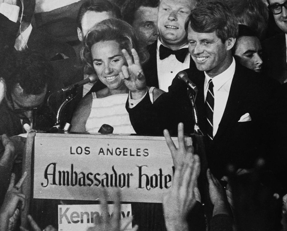Forty-five years ago, Robert F. Kennedy was assassinated in Los Angeles |  Kennedy jr, Kennedy, Ambassador hotel