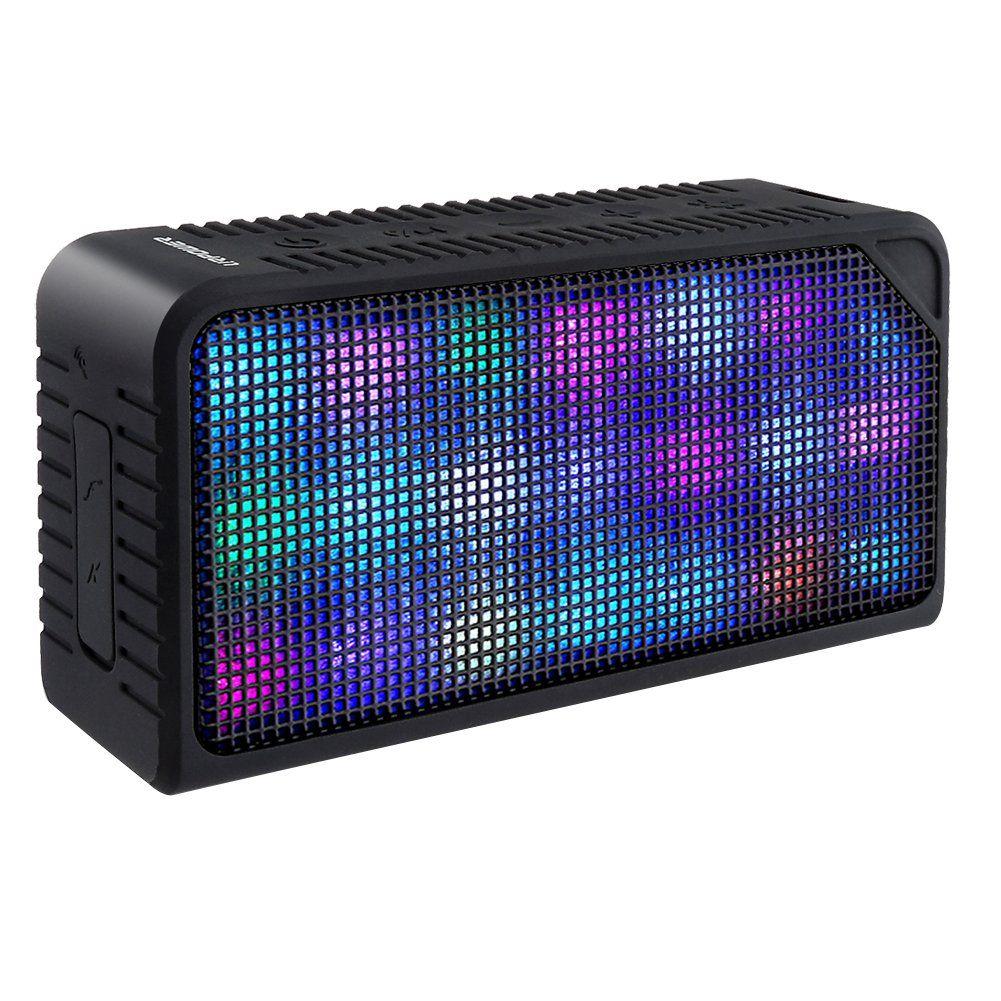 URPOWER Hi Fi  Bluetooth Portable Wireless  Speaker W// Led Visual Display Modes