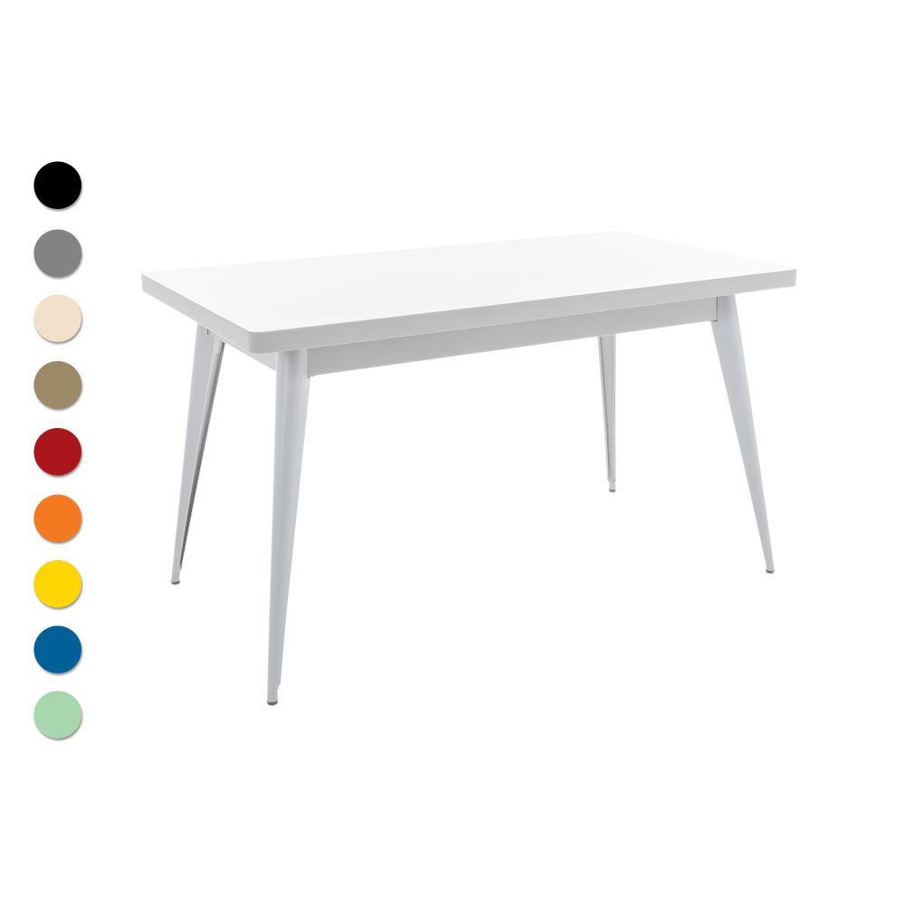 Tolix Tisch Table 55 Metall Franzosische Mobel Metalltische