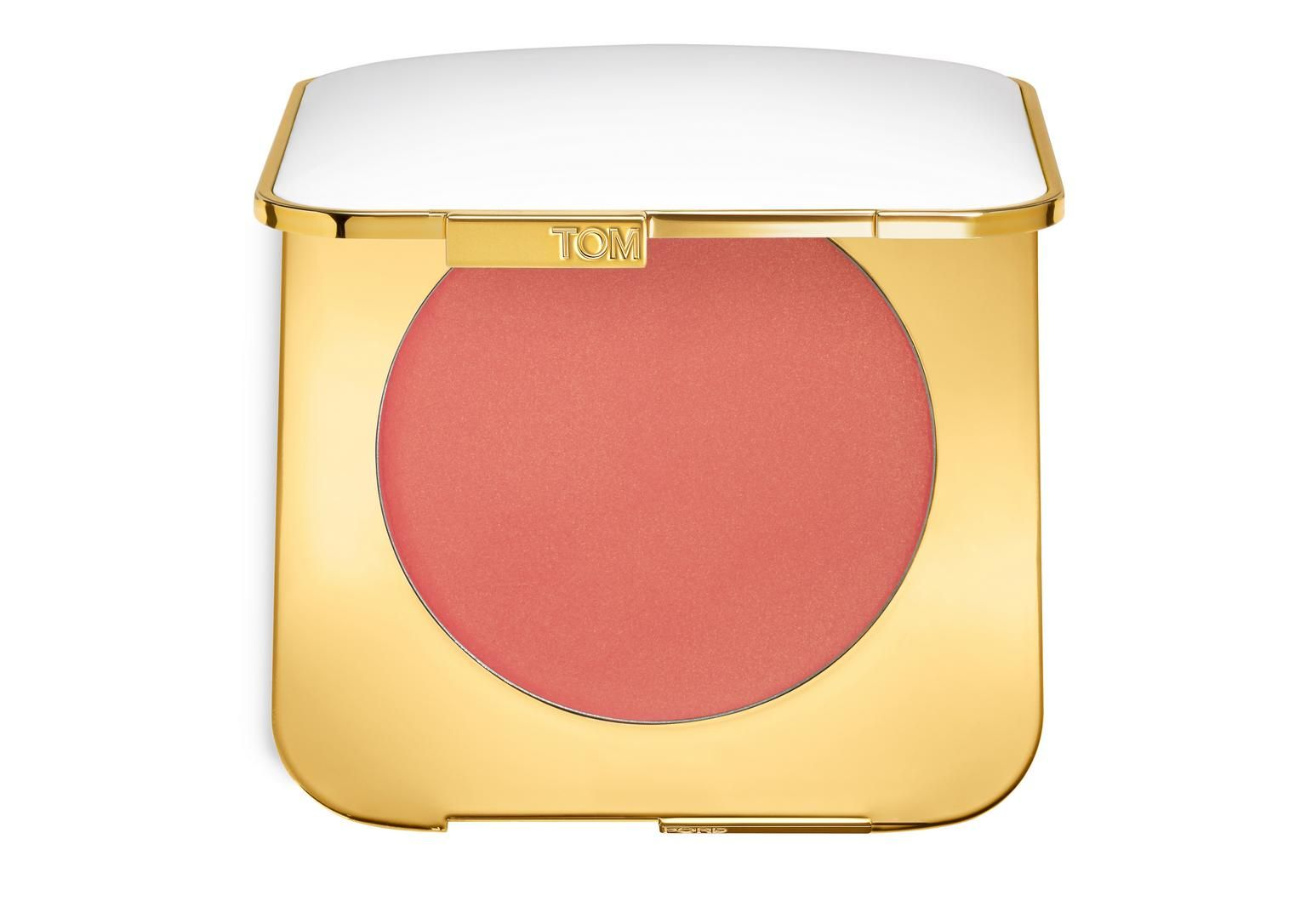 Instantly brightens face with a healthy glow and natural burst of color. The pearlescent shades give cheeks gorgeous luster and a radiant finish. Packaged in an ivory- and gold-colored Tom Ford Soleil compact.