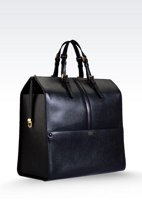 42829cb74f GIORGIO ARMANI BORGONUOVO BAG | Men's bag | Giorgio armani, Borse, Bago
