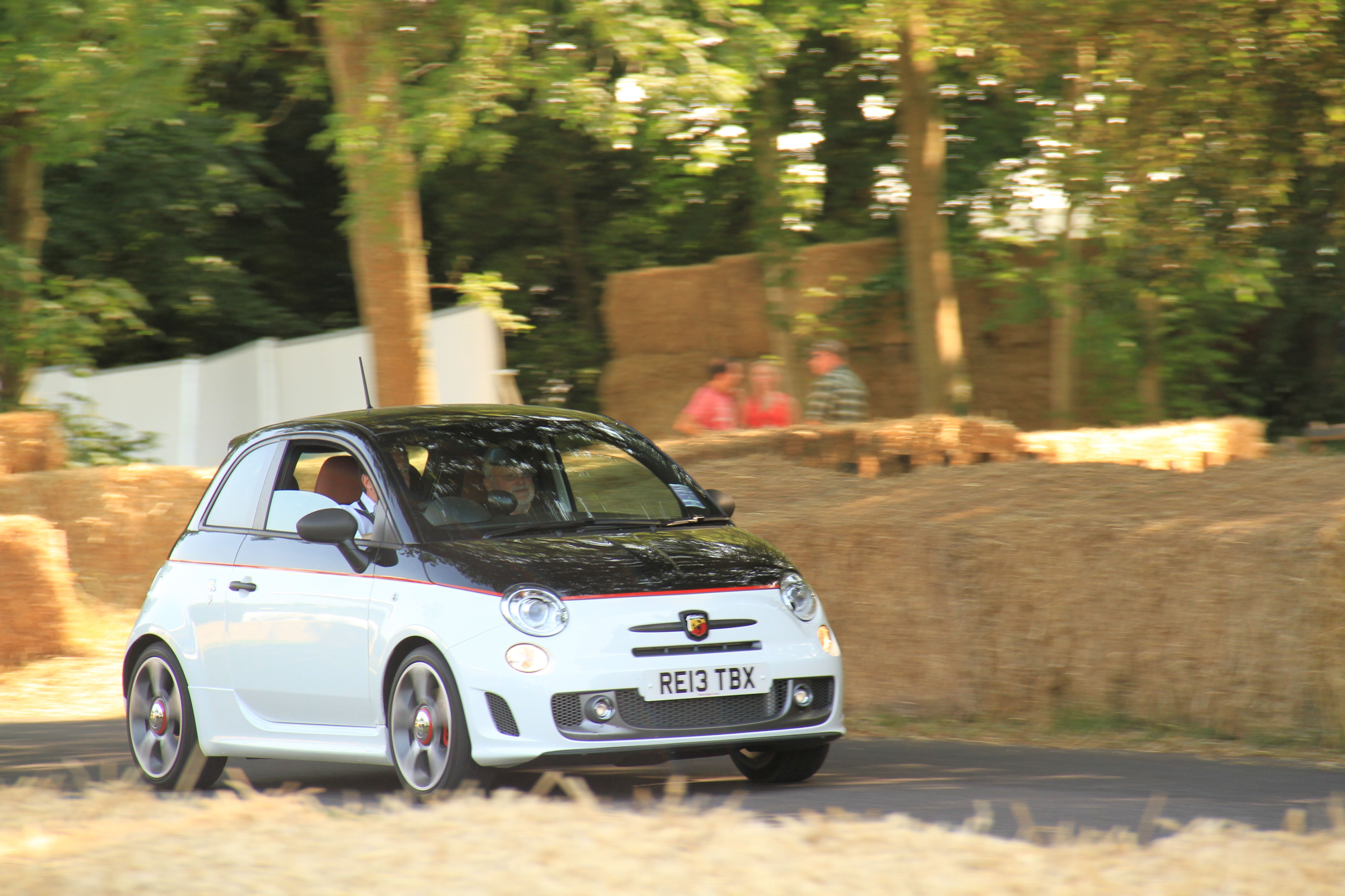 All the Abarth cars at Goodwood were supplied by Thames Slough ...