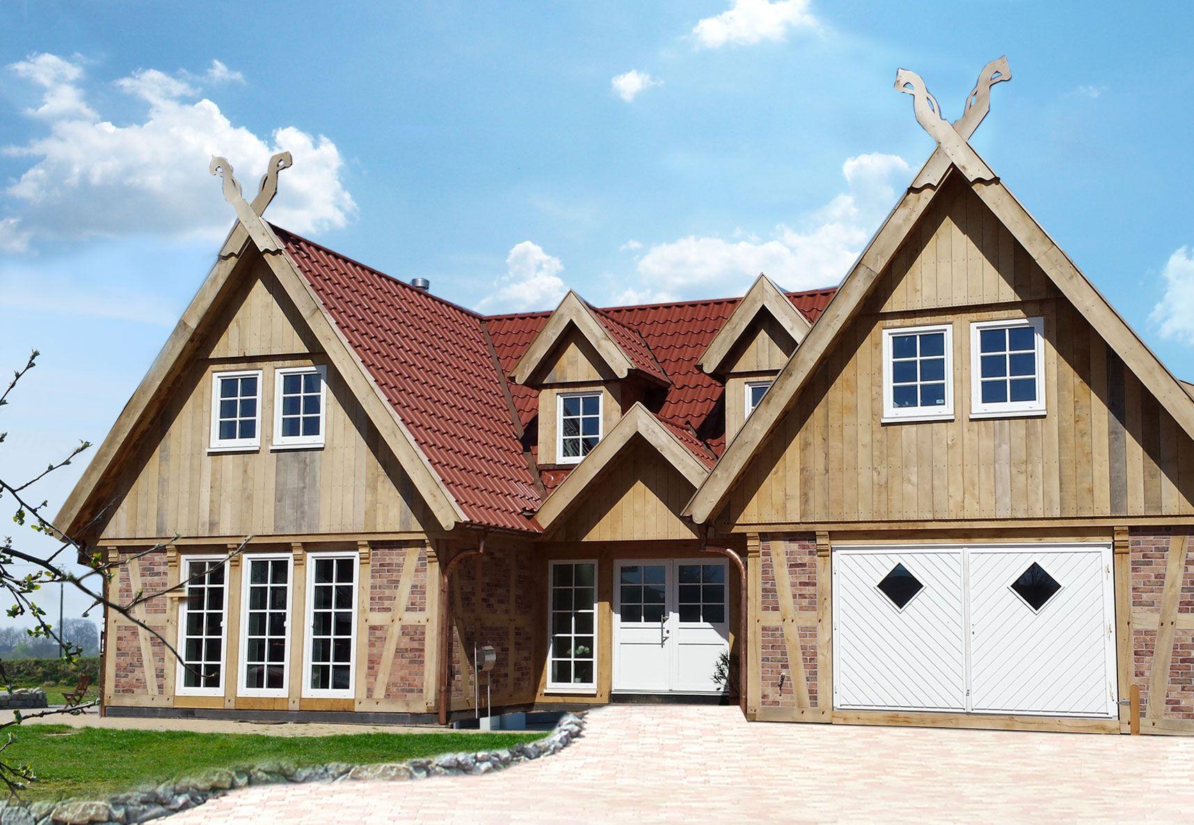 Fachwerk Doppelhäuser / Mehrfamilienhäuser Haus