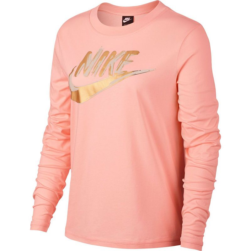 886c97ffb0 Nike Long Sleeve Crew Neck T-Shirt-Womens | Products in 2019 | Nike ...