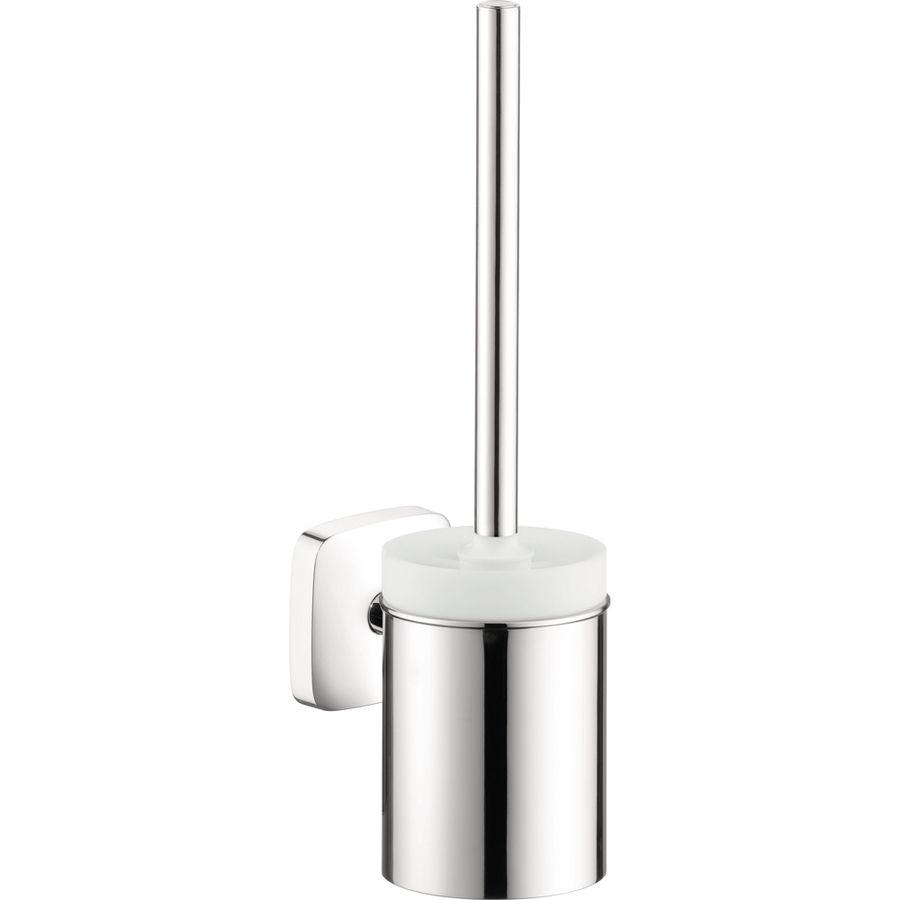 Hansgrohe Puravida Chrome Brass Toilet Brush Holder 41505000 In 2020 Wall Mounted Toilet Toilet Brush Toilet Brushes And Holders