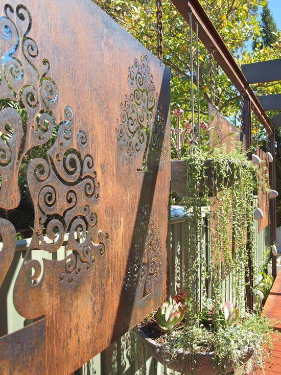 outdoor metal gardens art 49   Metal garden art, Garden ...
