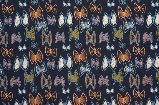 sky flower: textile | minä perhonen
