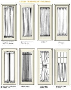 Curtain Treatments For French Doors