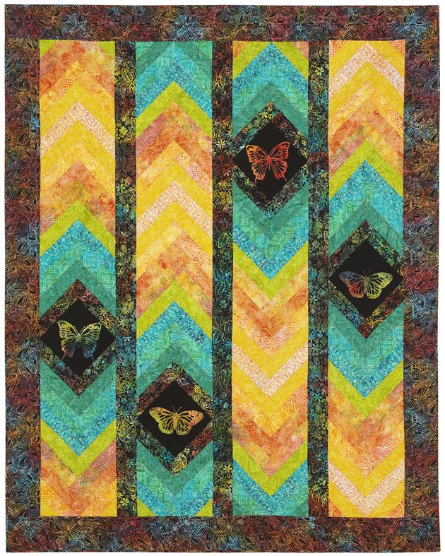 Free Pattern By Osie Lebowitz Tonga Utopia Free Quilt Patterns