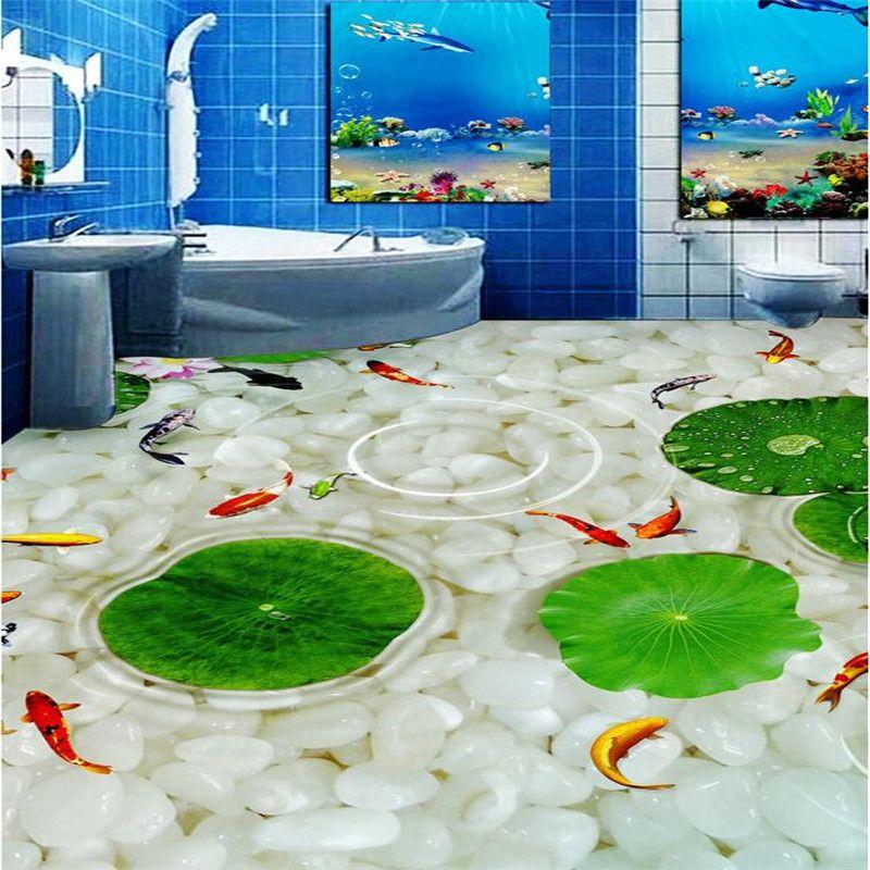 Barato cozinha moderna casa de banho personalizado 3d for Badezimmer 3d boden