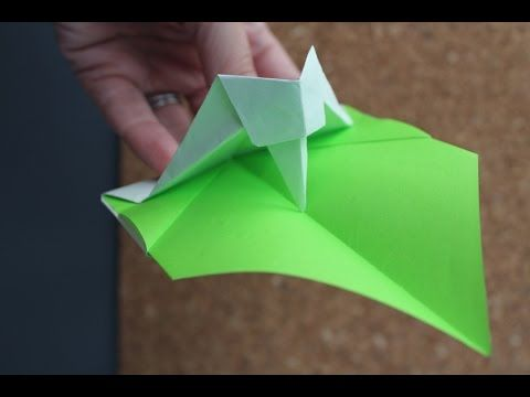 How To Make An Moving Origami Woodpecker Origami Pinterest