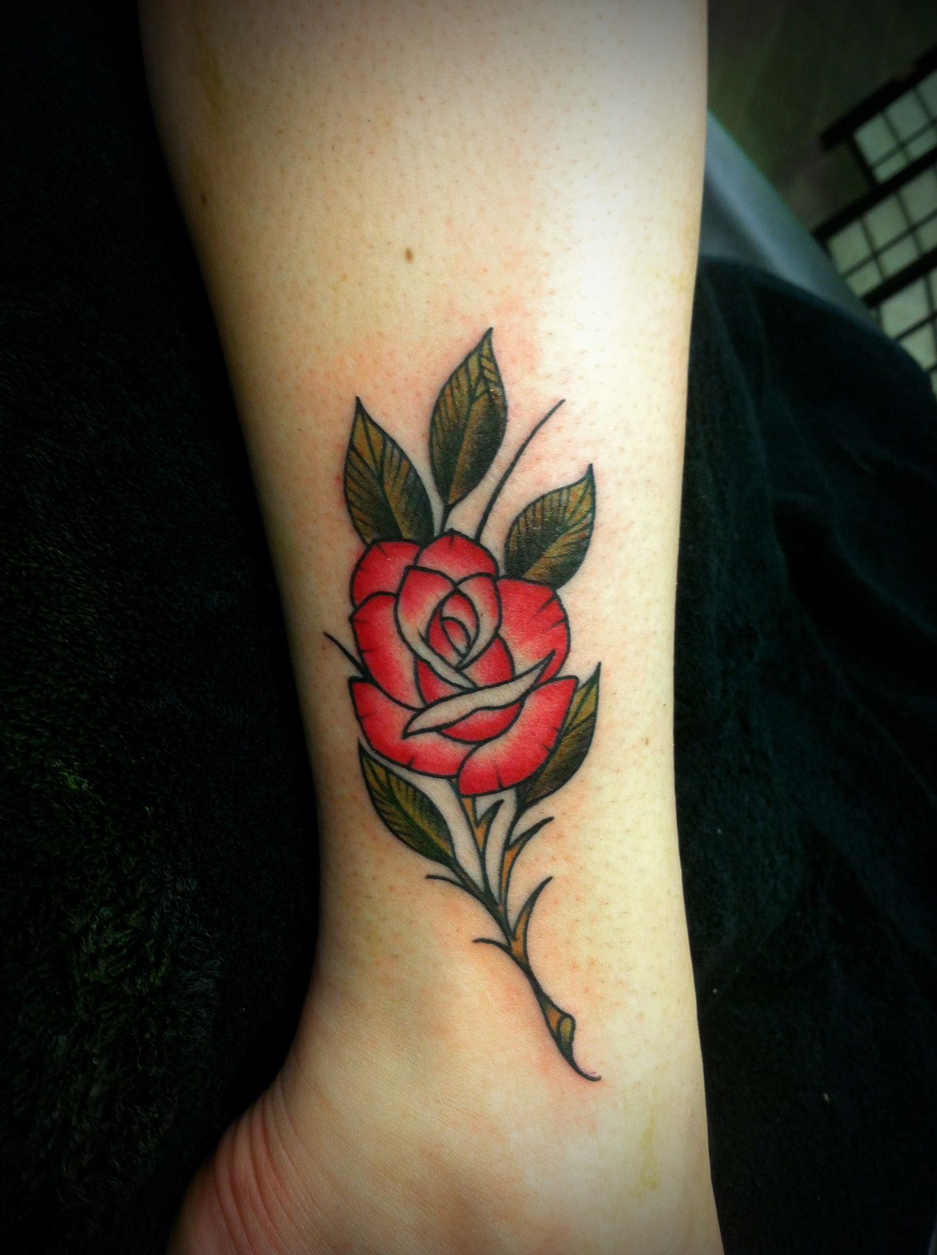 Pin by Emma McClatchey on Ink + Art Small rose tattoo