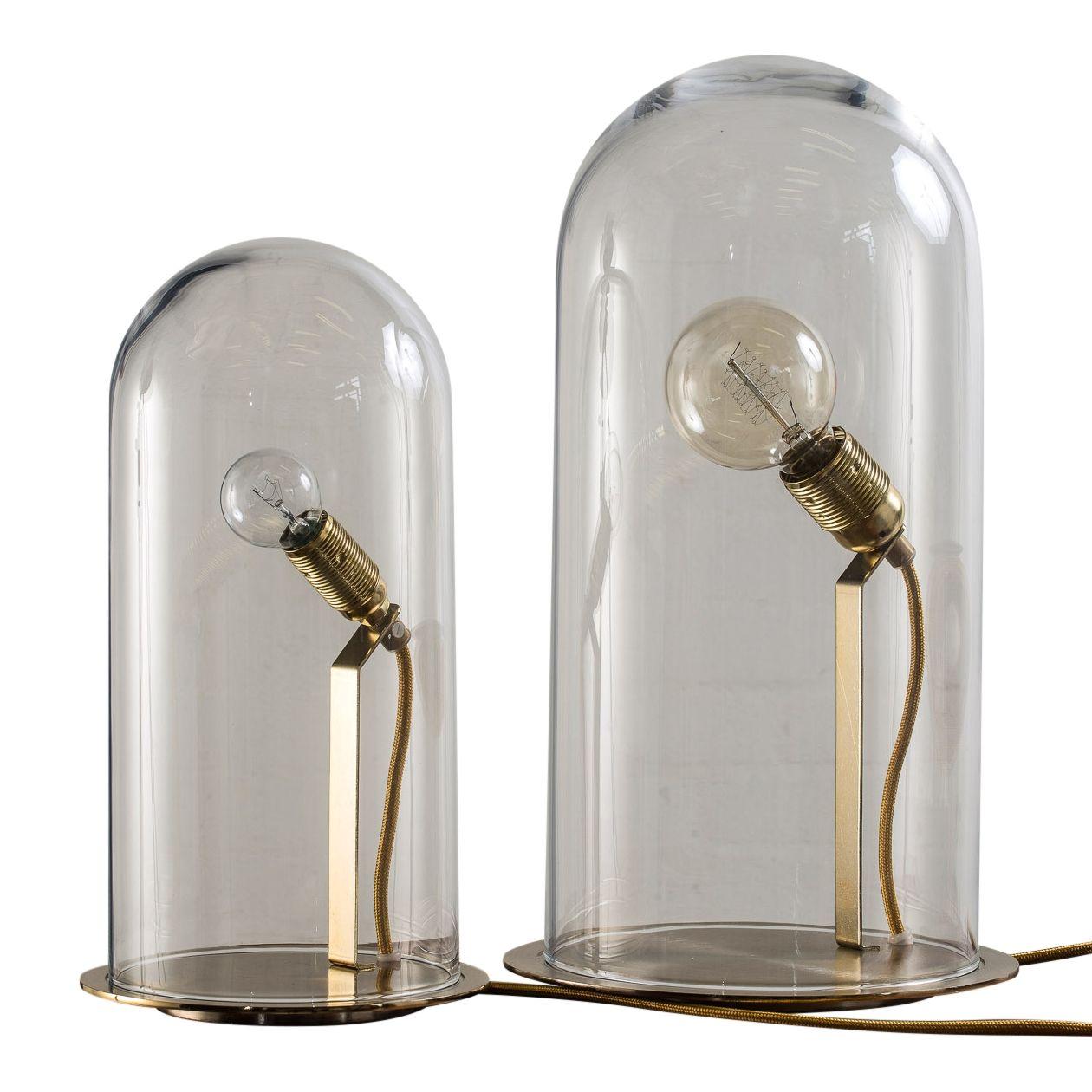 Nyhed fra Ebb & Flow - Speak Up! Dome i mundblæst glas med lampebase i messing eller krom.  Fås i flere farver og 2 størrelser Kan forudbestilles nu - lander på lageret i oktober 2014 www.houseofbk.com