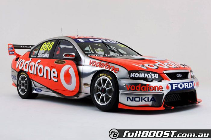 Vodafone Super Cars Ford Racing Ford Motorsport