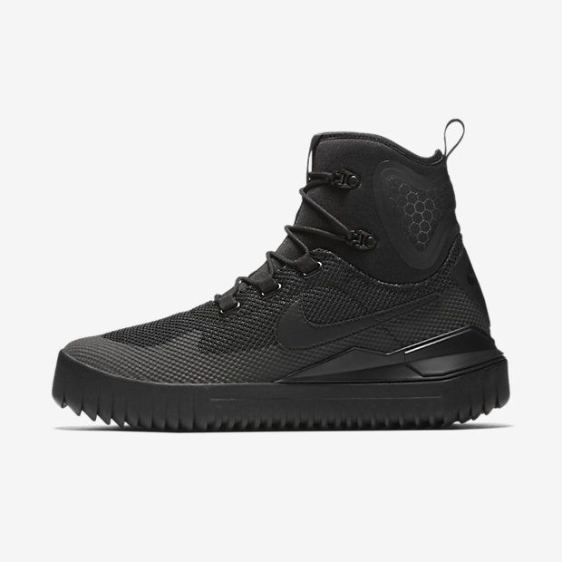 New Nike Men's Air Wild Mid Boots Black/Black/Anthracite/Black. Find this  Pin and more on Sneakers by david31956. Shop men's shoes & trainers ...