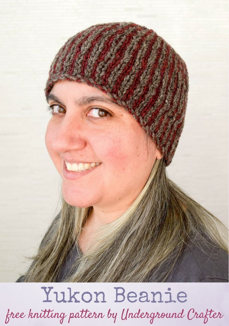Knitting Pattern: Yukon Beanie